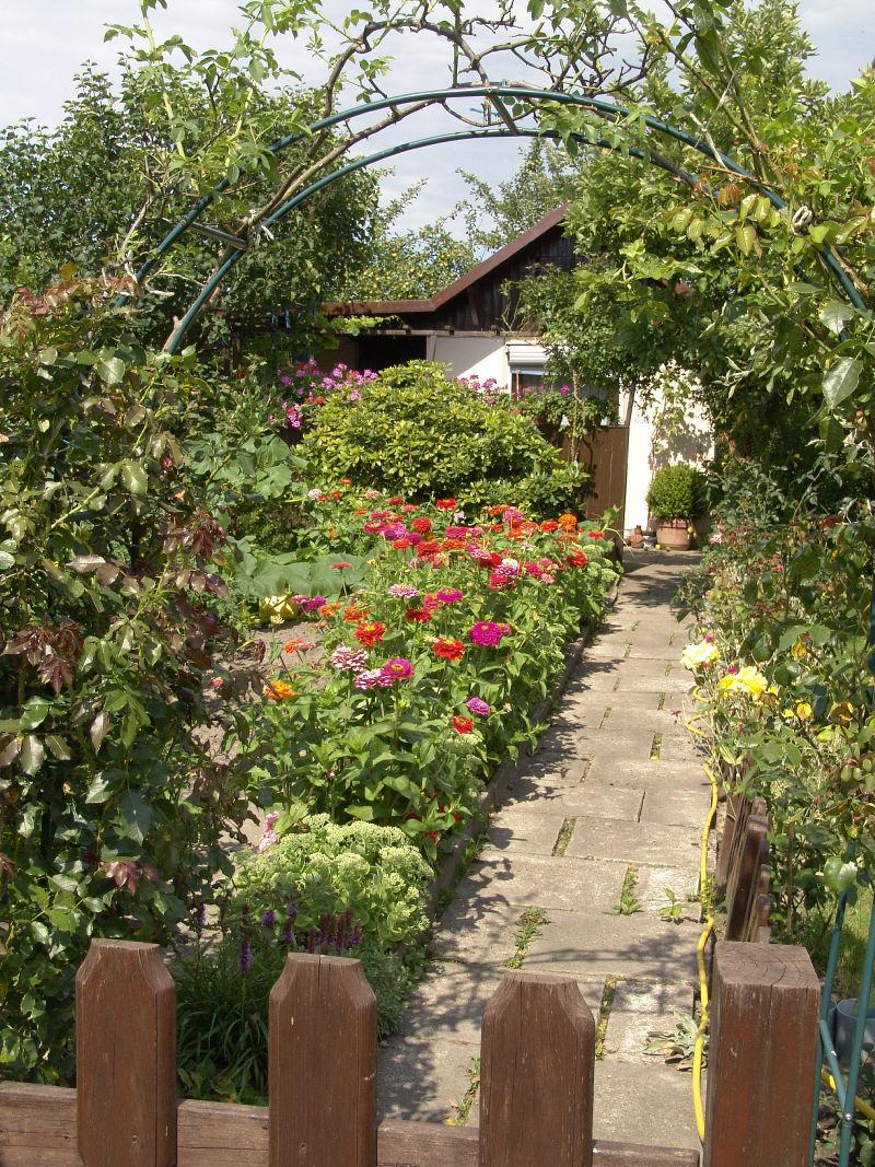 Der kleingarten bietet viele m glichkeiten zur gestaltung for Gestaltung kleingarten